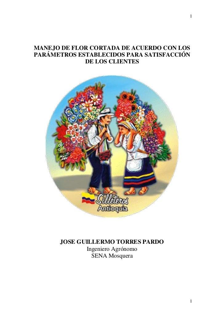 JOGUITOPAR- Manejo de Flor Cortada