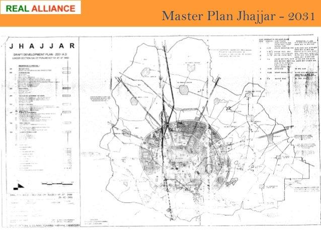 Master Plan Jhajjar - 2031