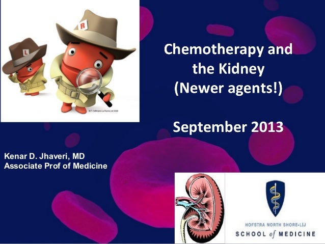 Newer Chemotherapy agents and renal toxicity