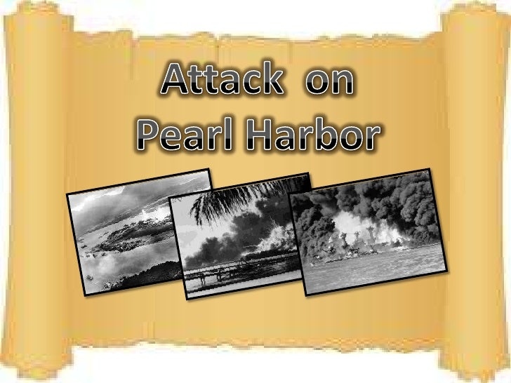 Attack  on Pearl Harbor <br />