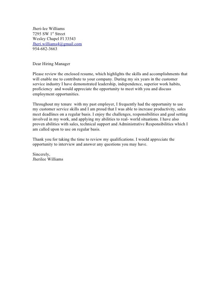 Letter To Recruiter Sample from image.slidesharecdn.com