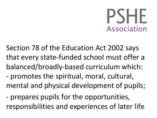 the education act 2002 Safeguarding children in education the role of local authorities and governing bodies under the education act 2002 guidance welsh assembly government circular no: 005/2008  section 175 of the education act 2002 and now vested in the welsh ministers in accordance with paragraph 30 of schedule 11 to the government of wales act 2006.