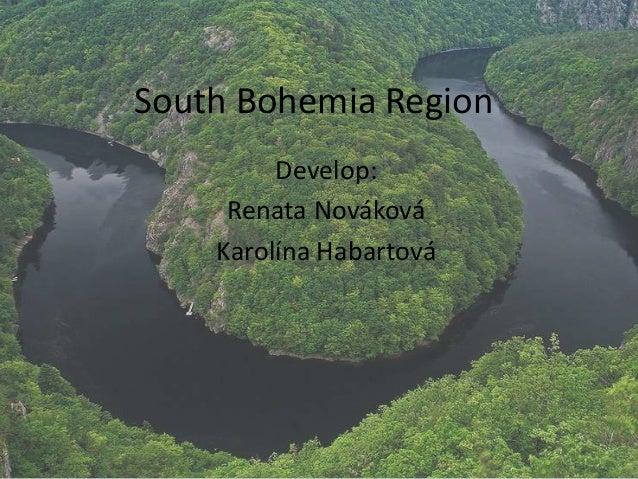South Bohemia Region Develop: Renata Nováková Karolína Habartová