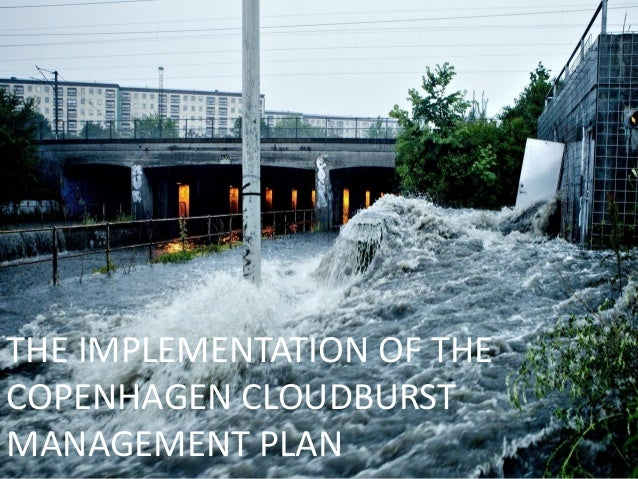 THE IMPLEMENTATION OF THE COPENHAGEN CLOUDBURST MANAGEMENT PLAN