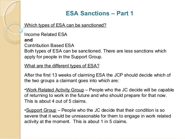benefit sanctions delays presentation at wandsworth