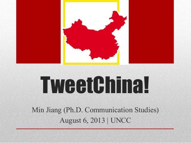 TweetChina Workshop Explores Big Data & Social Media