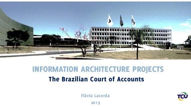 IA Projects: Brazilian Court of Accounts