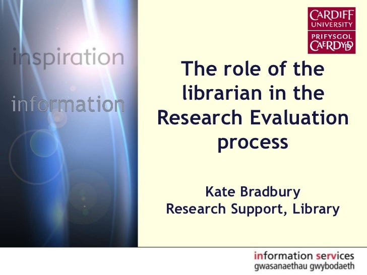 Role of the Librarian in the Research Process
