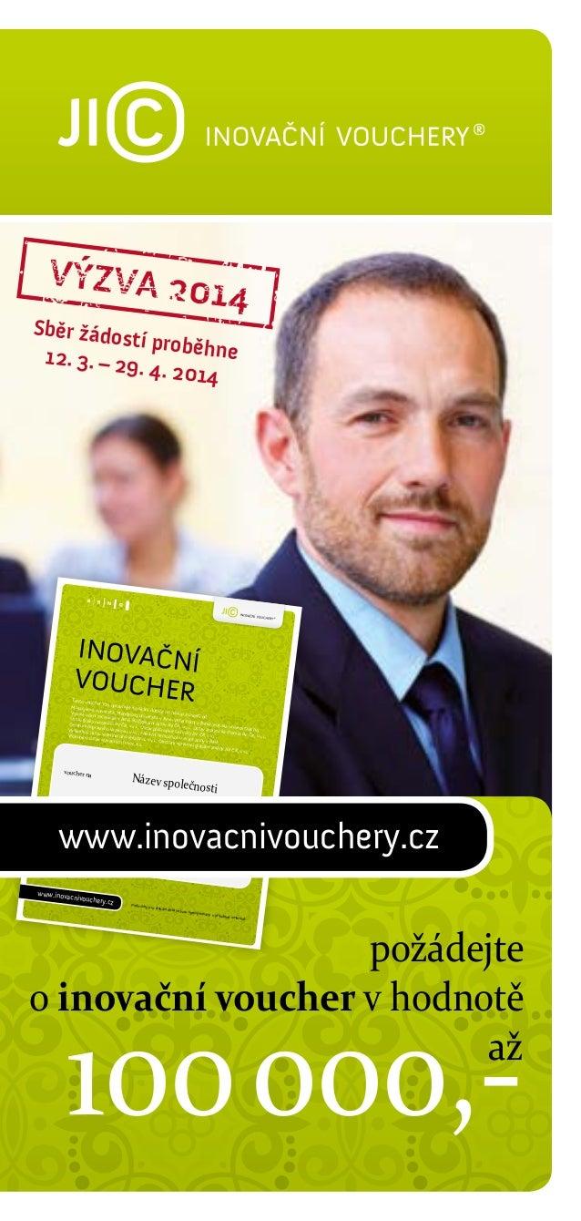 JIC | Inovační vouchery – výzva 2014