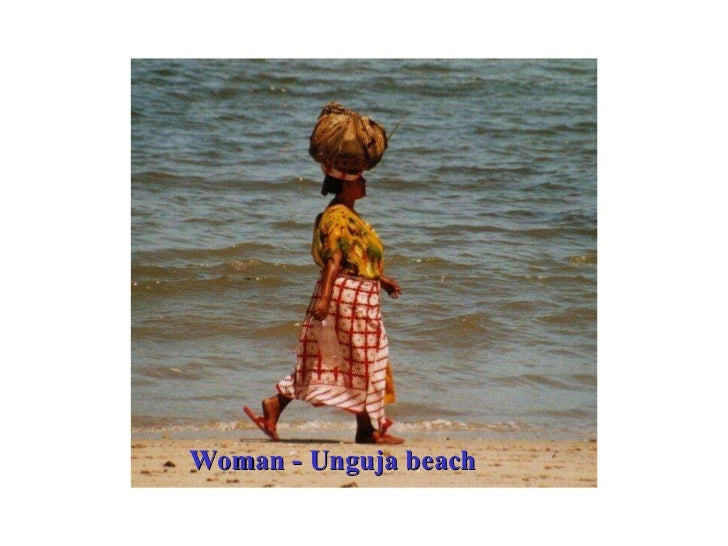 Woman - Unguja beach