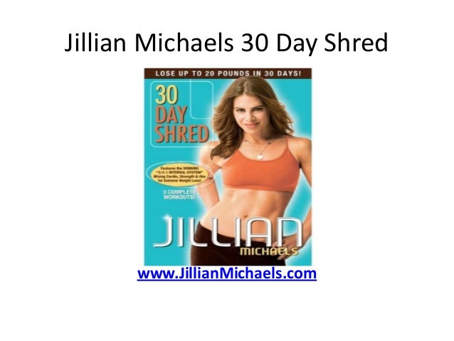 Burning Calories With Jillian Michaels 30-Day Shred