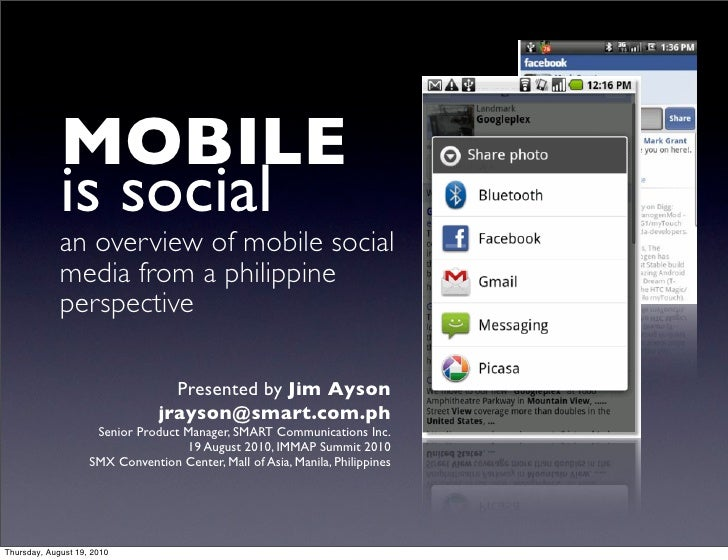 Mobile is Social (Complete)