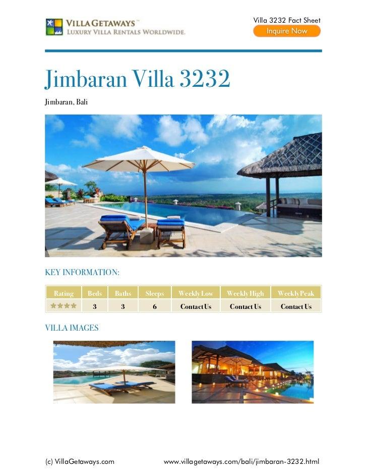 Jimbaran villa 3232,bali