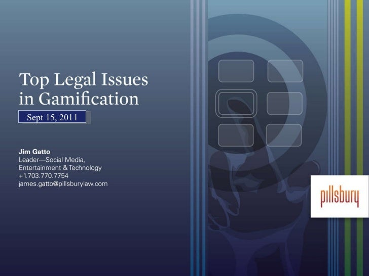 "Jim Gatto - ""Gamification Law: Formula for Success"""