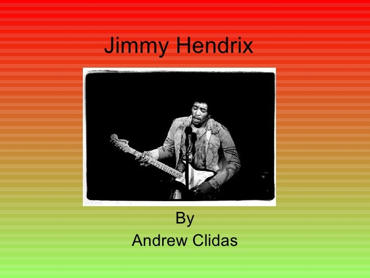 Jimmy Hendrix  By Andrew Clidas