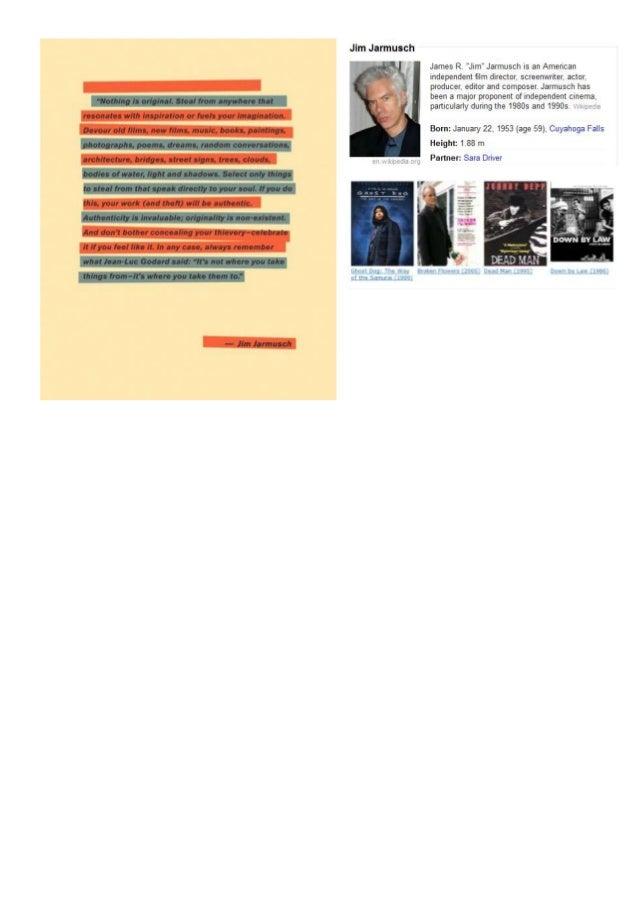 Jim Jarmusch - Nothing is Original.