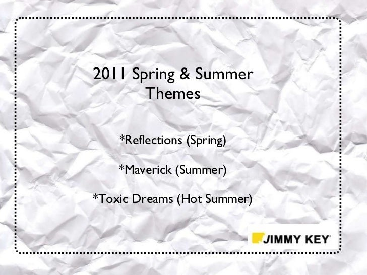 Jimmy key ss 2011 presentation