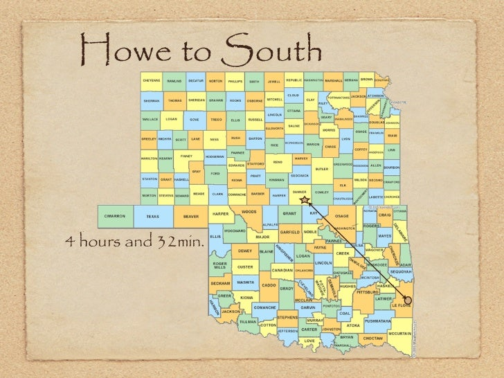 Howe to South4 hours and 32min.