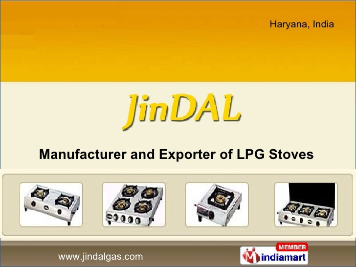 Manufacturer and Exporter of LPG Stoves
