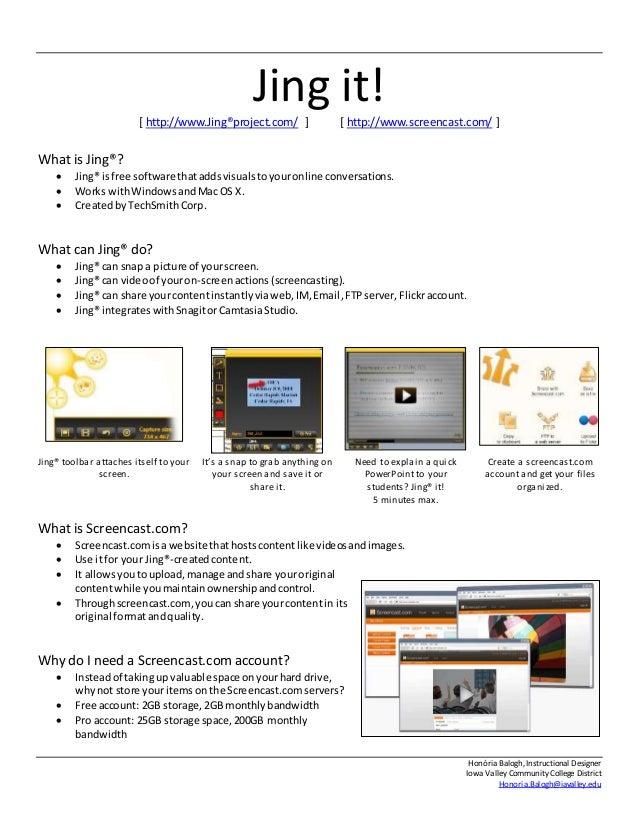 Jing It Presentation