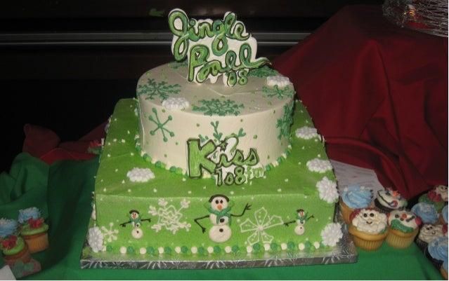 Jingle Ball Cake