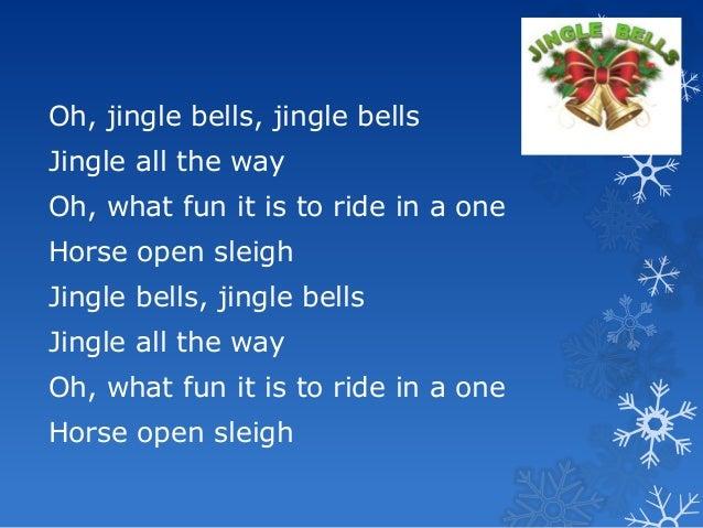 Jingle bells lyrics jm
