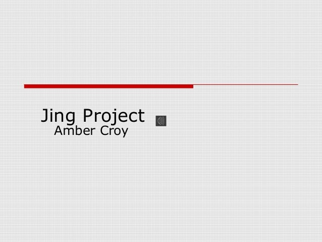 Jing Project Amber Croy