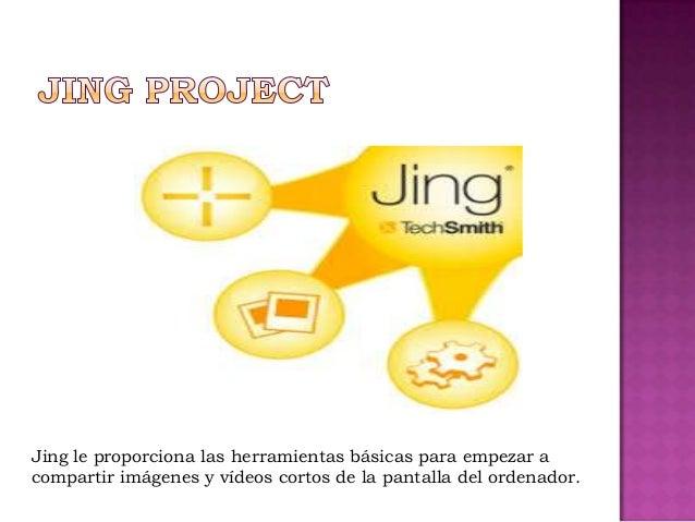 Jing le proporciona las herramientas básicas para empezar acompartir imágenes y vídeos cortos de la pantalla del ordenador.