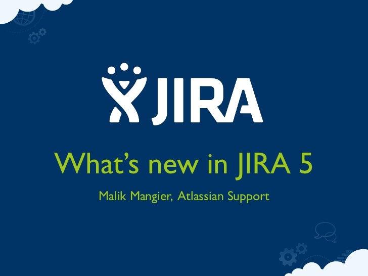 JIRA5 Introduction