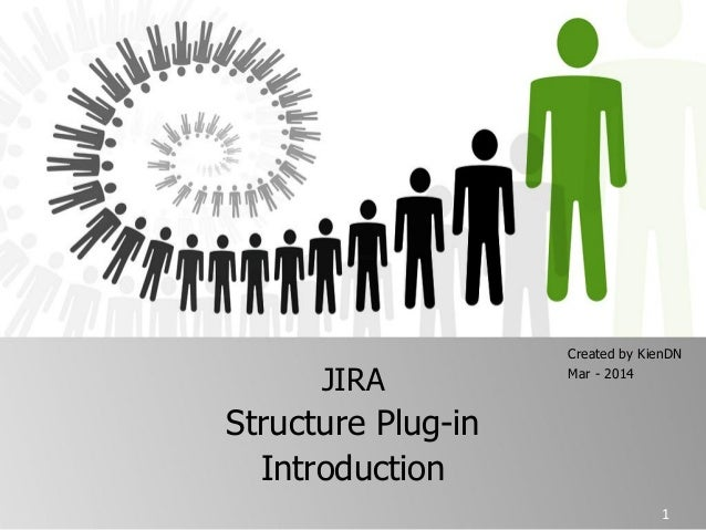 JIRA Structure Plug-in Introduction Created by KienDN Mar - 2014 1