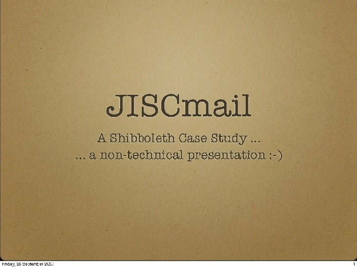 Jiscmail Services Day