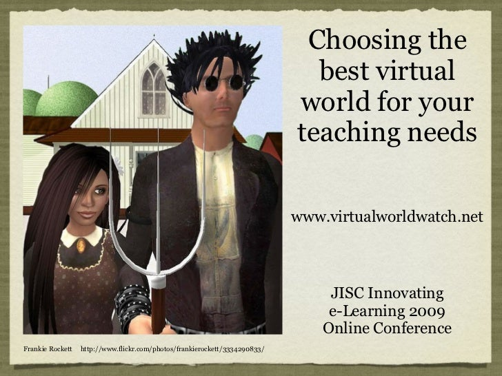 Choosing the best virtual world for your teaching needs