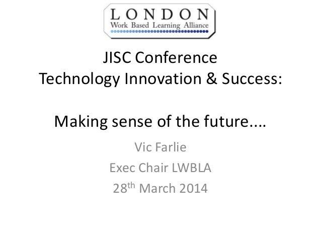 Victor Farlie - Making Sense of the Future