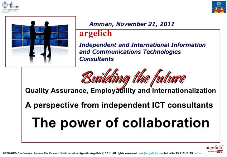 The power of collaboration, JISER MED