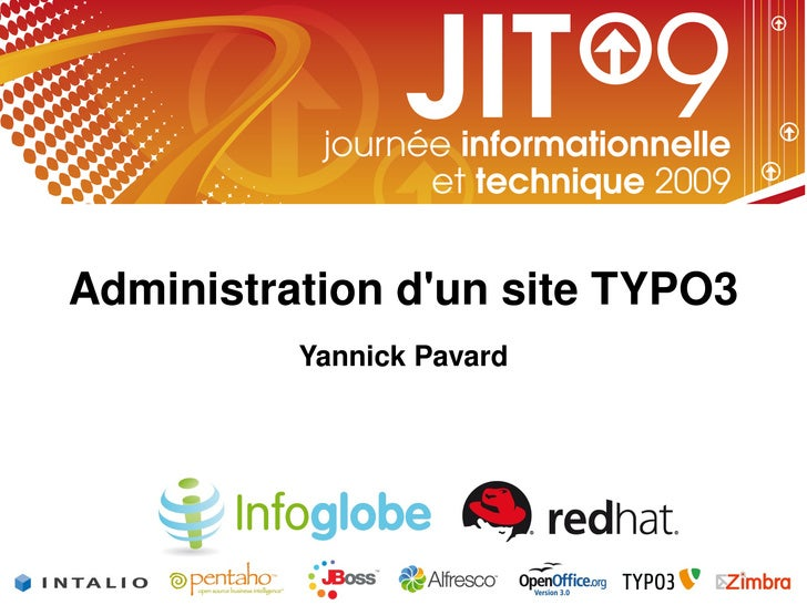 Administrationd'unsiteTYPO3                             YannickPavard