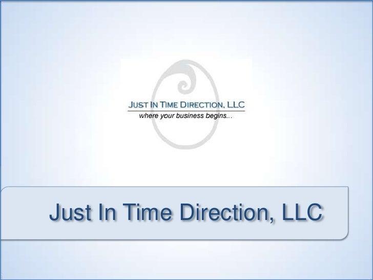 JITD kickoff web site presentation