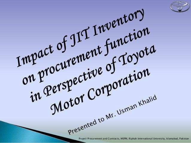 Project Procurement and Contracts, MSPM, Riphah International University, Islamabad, Pakistan