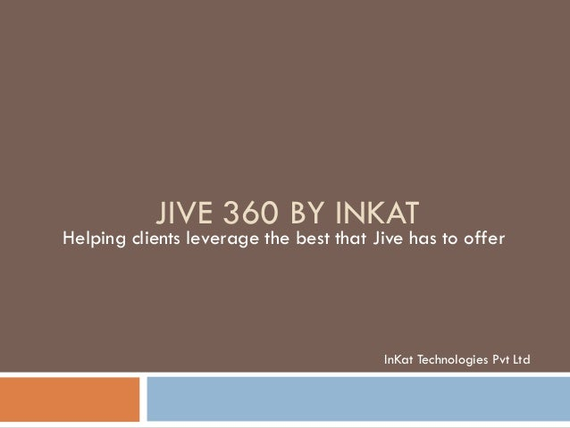 JIve 360 by InKat