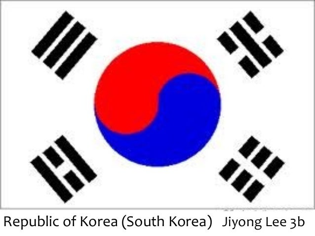 Republic of Korea (South Korea) Jiyong Lee 3b
