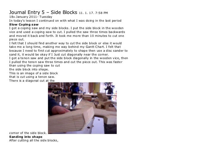 Ji yoon process journal entry 5 – side blocks 11