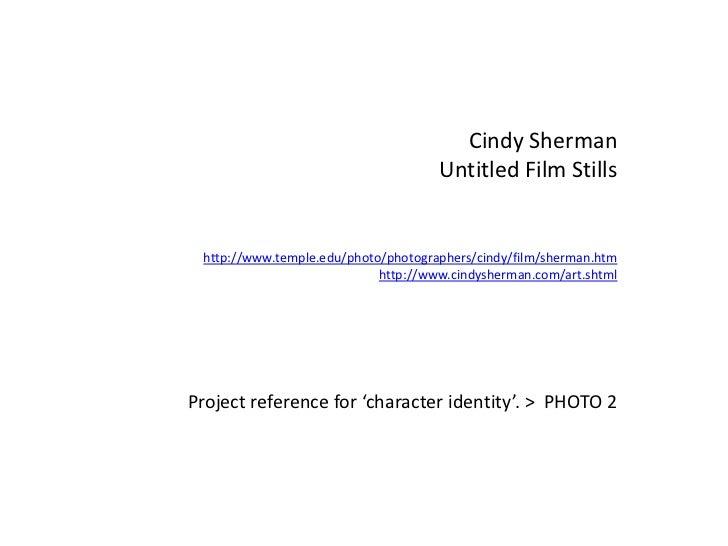 Cindy Sherman Untitled Stills