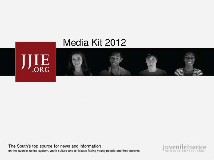 JJIE Media Kit 2012