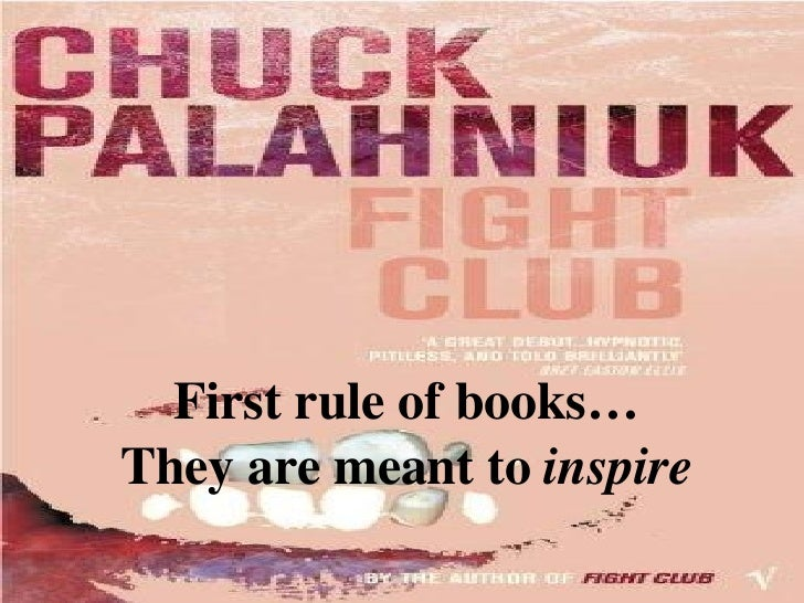 First rule of books… They are meant to  inspire