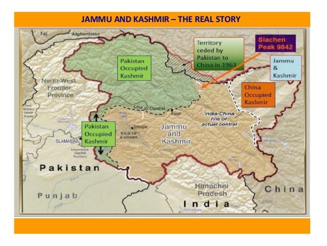 JAMMU AND KASHMIR – THE REAL STORY