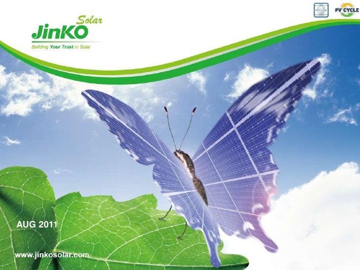 Jinko Solar Presentation