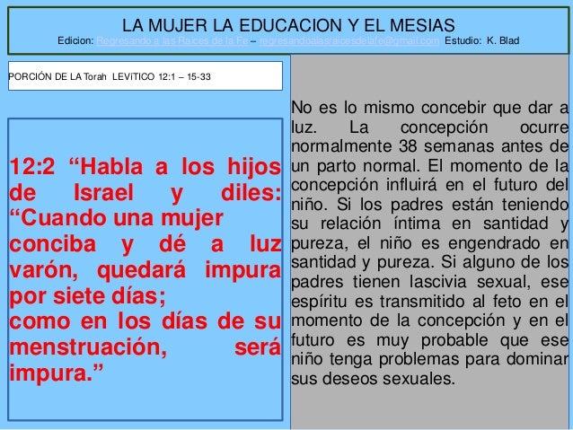 Jl l mujer, la educacion y el mesias