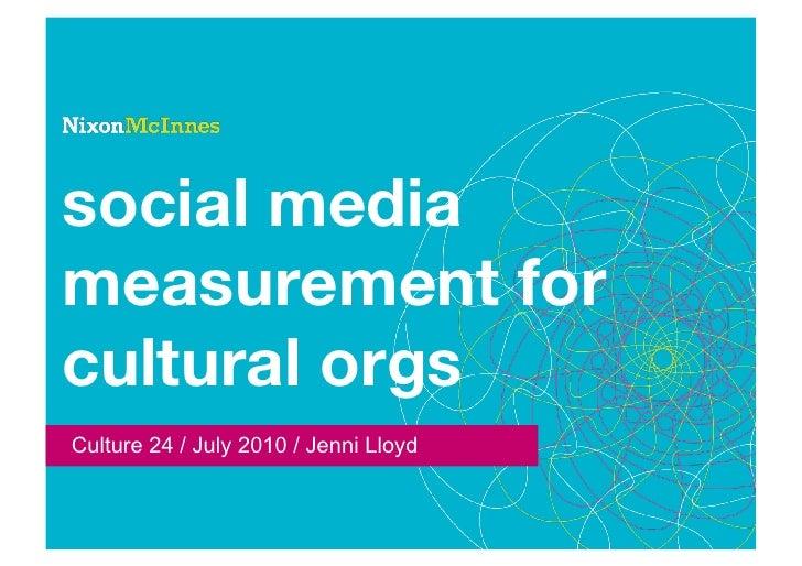 A framework for measuring social media
