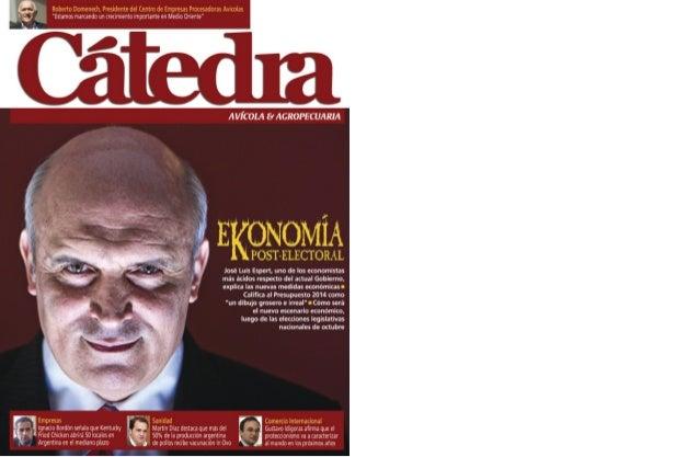 editorial DIRECTOR  Adalberto Rossi  Es imperativo desgravar las exportaciones de los productos avícolas  REDACCIÓN  Marie...