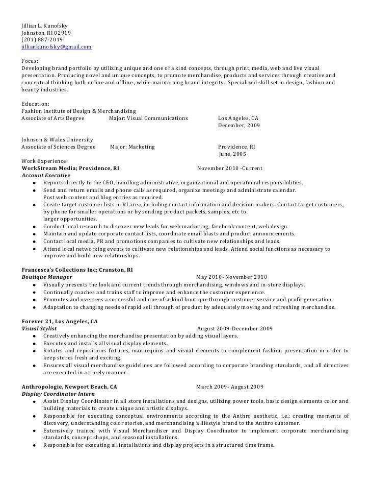 forever 21 resume sample - Roho.4senses.co