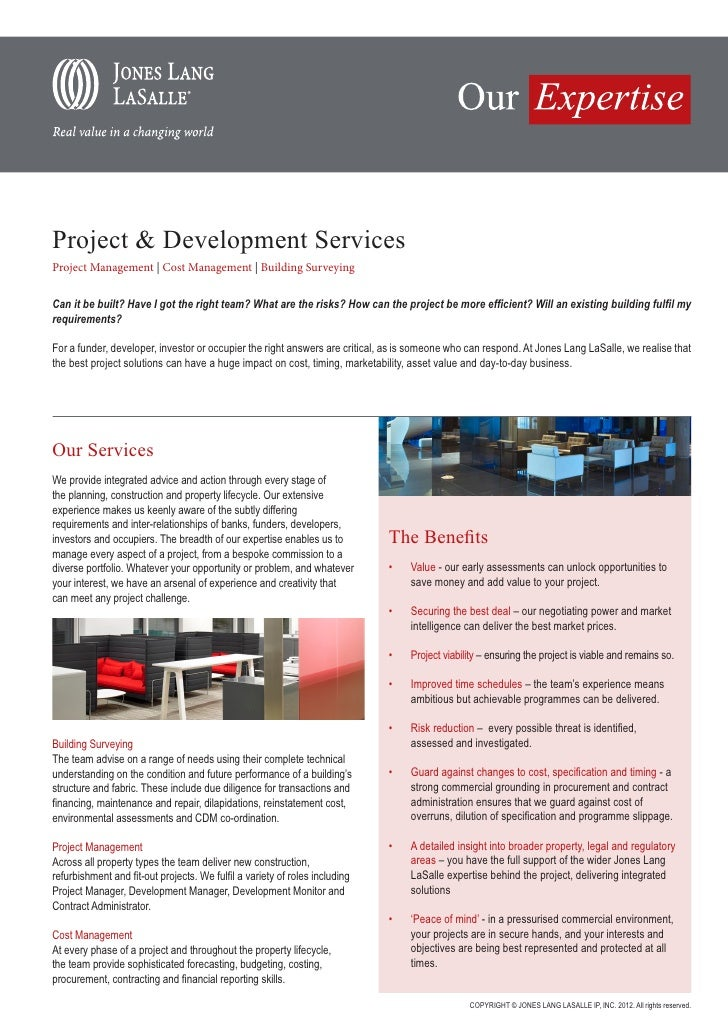 Project & Development ServicesProject Management | Cost Management | Building SurveyingCan it be built? Have I got the rig...